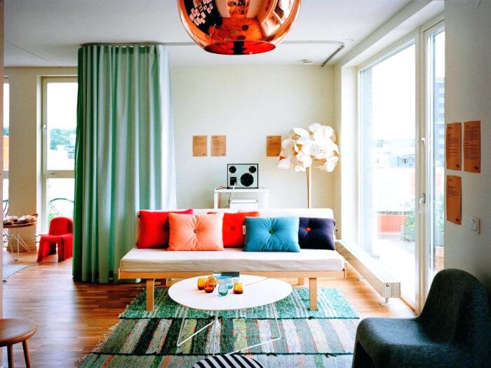 image-of-cute-aqua-curtainsaqua-curtains-living-room—and-brown